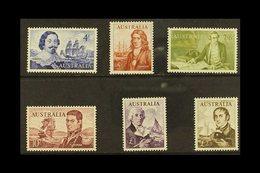 1963-65  Explorers Set, SG 355/60, Never Hinged Mint (6 Stamps) For More Images, Please Visit Http://www.sandafayre.com/ - Australie