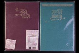 1994-95  Hardback Yearbooks In Slipcases & Dustcovers(2 Yearbooks) For More Images, Please Visit Http://www.sandafayre.c - Australie