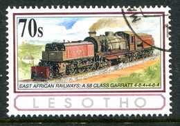 Lesotho 1993 African Railways - 70s Value Used (SG 1167) - Lesotho (1966-...)