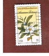 STATI UNITI (U.S.A.) - SG  3605   - 1999   J. & W. BARTRAN, BOTANITS    - USED - Used Stamps