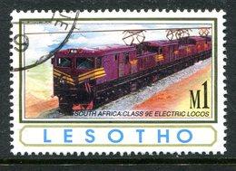 Lesotho 1993 African Railways - 1m Value Used (SG 1168) - Lesotho (1966-...)