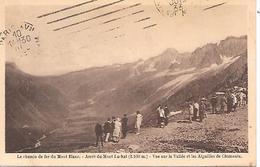 CHAMONIX - ( 74 ) - Arrêt Du Mont Lachat - Chamonix-Mont-Blanc
