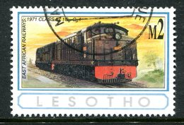 Lesotho 1993 African Railways - 2m Value Used (SG 1169) - Lesotho (1966-...)