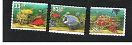 STATI UNITI (U.S.A.) - SG  3623.3626   - 1999   AQUARIUM FISHES   - USED - Used Stamps