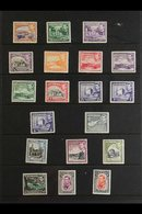 1938-51  KGVI Definitives Complete Set, SG 151/63, Very Fine Mint. (19 Stamps) For More Images, Please Visit Http://www. - Chypre