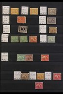 1867-1936 MINT / UNUSED ASSEMBLY CAT £1000  A Most Useful Range Presented On Stock Pages That Includes 1867-71 5pa (two - Égypte