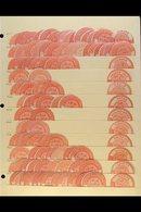 INTERPOSTAL SEALS  1882 TYPE VIIIA Fine Mint & Unused Accumulation On Stock Pages, Inc Barbar (x15, Sudan), Barbara (x24 - Égypte