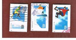 STATI UNITI (U.S.A.) - SG  3628.3630   - 1999  EXTREME SPORTS   - USED - Used Stamps