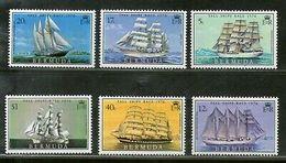Bermuda 1976 Sailing Ships Race Boat Transport Sc 537-42 MNH # 557 - Ships