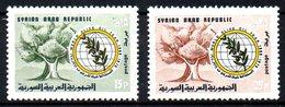 SYRIE. N°298-9 De 1970. Olivier. - Arbres