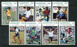 Lesotho 1994 Football World Cup, USA Set Used (SG 1192-1199) - Lesotho (1966-...)
