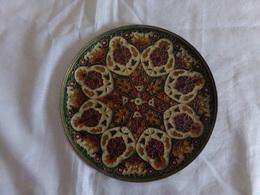 Assiette Décorative En émaux Cloisonnés Multicolores - Non Classés