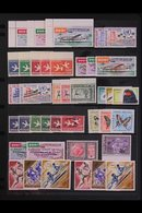 1959-1968 AIR POST ISSUES.  SUPERB NEVER HINGED MINT COLLECTION On Stock Pages, All Different, Includes 1959 Aircraft Se - Guinée (1958-...)