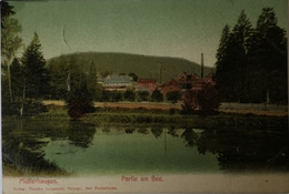 Mutterhausen (57) Partie Am See 1902 - Frankrijk