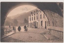 HUY - LA MOSTEIE - VUE PRISE SOUS LE VIADUC - 1912 - Huy