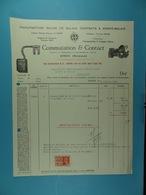 Manufacture Belge De Balais, Contacts Et Porte-balais Commutation & Contact Dison / 59/ - Électricité & Gaz