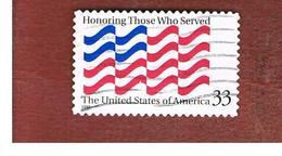 "STATI UNITI (U.S.A.) - SG  3638   - 1999  ""HONORING THOSE WHO SERVED""    - USED - Used Stamps"