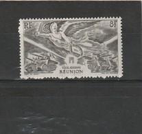 Réunion Neuf *  1946 Poste Aérienne N° 35  Anniversaire De La Victoire - Ongebruikt