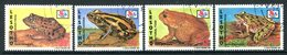 Lesotho 1994 Frogs & Toads Set Used (SG 1205-1208) - Lesotho (1966-...)