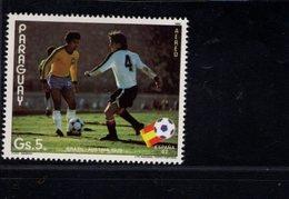 739897148  POSTFRIS MINT NEVER HINGED POSTFRISCH EINWANDFREI  SCOTT 2049 WORLD CUP SOCCER CHAMPIONSHIPS SPAIN - Paraguay