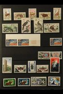 1959-1974 COLLECTION IN A LARGE ALBUM  Virtually All Different, The Stamps Mostly NEVER HINGED MINT (plus A Few Used) In - Mali (1959-...)