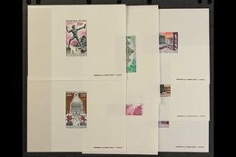 """1971  Air """"The Seven Wonders Of The Ancient World"""" Complete Set (Yvert 130/36, SG 301/07), EPREUVES DE LUXE, Very Fine.  - Mali (1959-...)"""