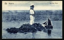 Westende. Le Petit Marin. Carte STAR. **** Héliotypie De Graeve, Gand. - Cartes Postales