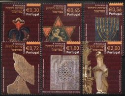 PORTUGAL, 2004, JEWISH HERITAGE IN PORTUGAL, CE#3135-40, MNH - Nuovi