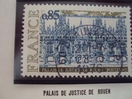 """70-79- Timbre Oblitéré N°   1806   """" Palais Justice De Rouen       """"    0.30 - France"""