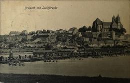 Breisach Am Rhein // Schiffbrucke 1910 - Breisach
