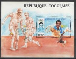Togo - Bloc - YT 263 ** - 1987 - Tennis - Jeux Olympiques Séoul 1988 - Togo (1960-...)