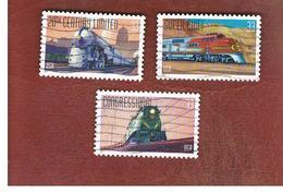 STATI UNITI (U.S.A.) - SG 3641   - 1999  TRAINS    - USED - Used Stamps