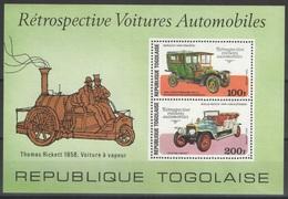 Togo - Bloc - YT 105 ** - 1977 - Voitures Automobiles - Togo (1960-...)