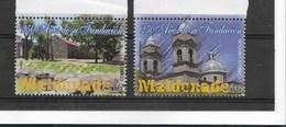 URUGUAY 2006, MALDONADO CITY ANNIVERSARY 2 VALUES MINT MNH - Uruguay