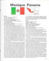 GRENADINE    -  HISTOIRE + TIMBRES  OBLITERES  - - Mexique