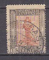 PGL - COLONIE ITALIANE LIBIA SASSONE N°25 - Libye