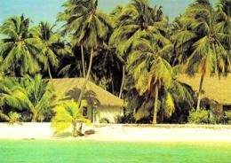 [MD3003] CPM - MALDIVE - KURUMBA VILLAGE - ART EDITION - BY ERIC KLEMM - Non Viaggiata - Maldiven