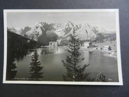 19915) LAGO MISURINA SORAPIS VIAGGIATA 1934 - Bolzano