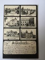 Monchengladbach (NRW) Mikro Mehrbild Karte 1905 - Mönchengladbach