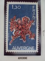 """70-79- Timbre Oblitéré N° 1850     """"  Auvergne      """"      0.30 - France"""