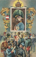 Austria Kaiser Franz Josef Postcard - Familles Royales