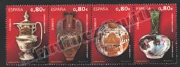 Spain - Espagne 2011 Yvert 4324-27, Spanish Ceramics, Ceramics Of Manises - MNH - 2011-... Unused Stamps