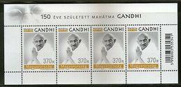 Hungary 2019 Mahatma Gandhi Of India 150th Birth Anniversary Sheetlet MNH #5459B - Birds