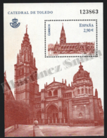 Spain - Espagne 2012 Yvert 4401, Architecture. Toledo Cathedral - Miniature Sheet - MNH - 1931-Hoy: 2ª República - ... Juan Carlos I