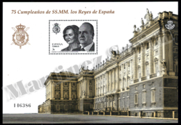 Spain - Espagne 2013 Yvert 4533, 75 Anniversary Of The Kings Of Spain - Miniature Sheet - MNH - 1931-Hoy: 2ª República - ... Juan Carlos I