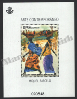 Spain - Espagne 2014 Yvert 4607, Contemporary Art, Miquel Barceló - Miniature Sheet - MNH - 2011-... Ungebraucht