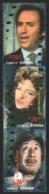 Spain - Espagne 2014 Yvert 4608-10, Famous People, Spanish Cinema, Manolo Escobar, Sara Montiel, Alfredo Landa - MNH - 1931-Hoy: 2ª República - ... Juan Carlos I