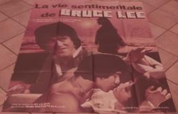 AFFICHE CINEMA ORIGINALE FILM LA VIE SENTIMENTALE DE BRUCE LEE Betty TING PEI LI HSIU HSIEN KARATE TBE - Affiches & Posters