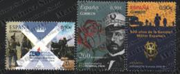 Spain - Espagne 2015 Yvert 4660-62, Ephemeris / Anniversaries, Military - MNH - 1931-Today: 2nd Rep - ... Juan Carlos I