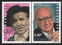 Spain - Espagne 2015 Yvert 4673-74, Famous People, Spanish Cinema. Francisco Martínez Soria / José Luis Borau - MNH - 1931-Hoy: 2ª República - ... Juan Carlos I